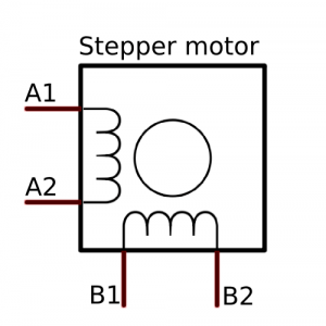 Bipolar stepper motor