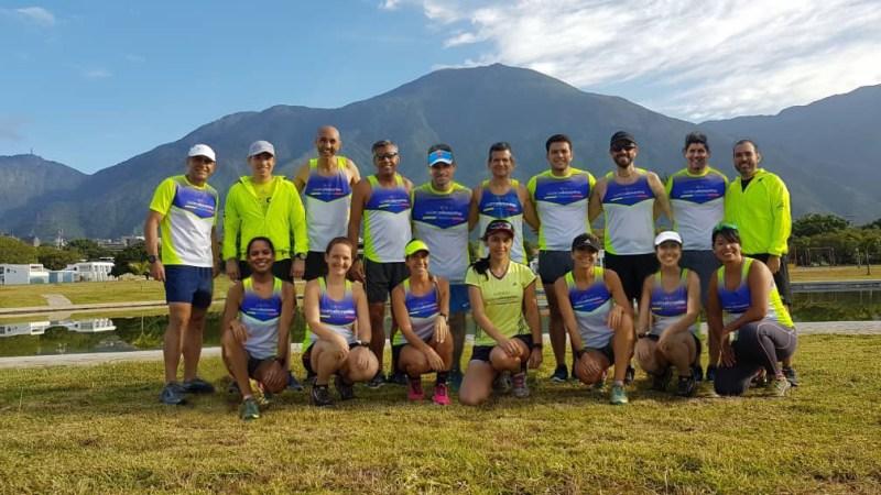 El club de corredores 4 Elementos es uno de los que más representantes lleva a Medellín. Janett Noto/José Juan Díaz