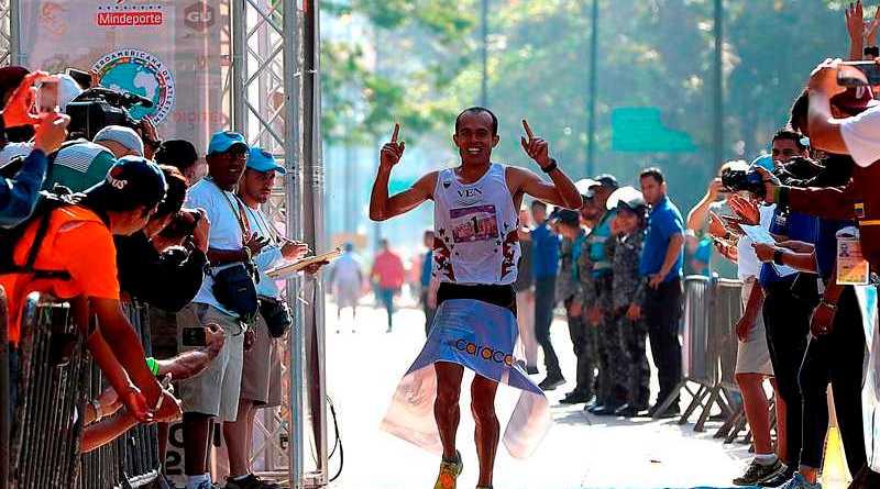 El tachirense Dídimo Sánchez ganó la primera edición de Caracas 42K/El Universal
