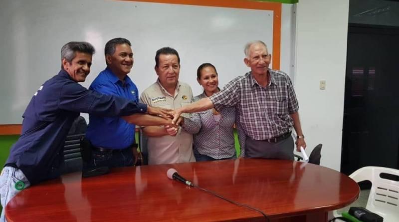 La media de San Sebastián tendrá el apoyo total de la Gobernación del Táchira y la alcaldía de la ciudad, además del Ministerio e Instituto Nacional de Deportes. En la imagen el momento del compromiso entre las partes/Marcos Oviedo
