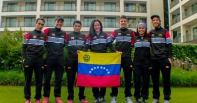 La representación venezolana que estuvo presente en Portugal