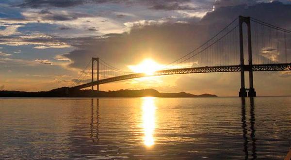 El icónico puente de Angostura