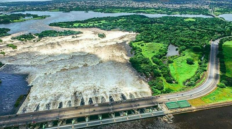 La represa de Macagua, uno de los íconos emblemáticos previstos del maratón 42K Ciudad Guayana