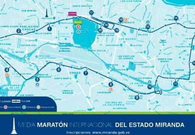 Ajustan ruta de la media maratón de Miranda