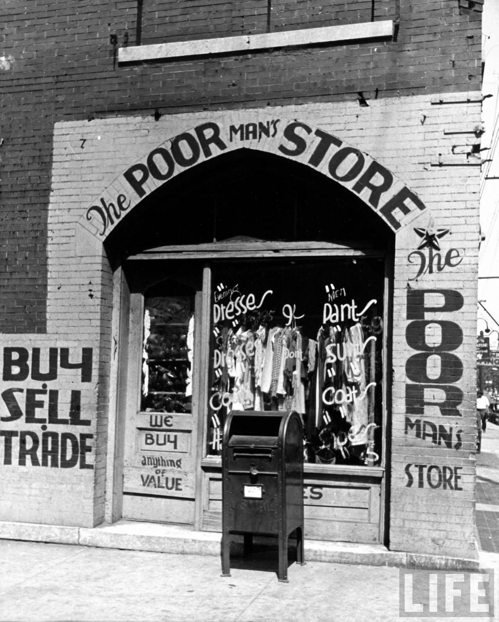 Vintage Beale Street Poor store