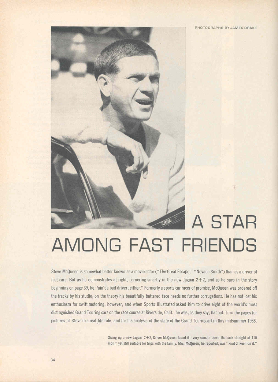 sports illustrated steve mcqueen page1
