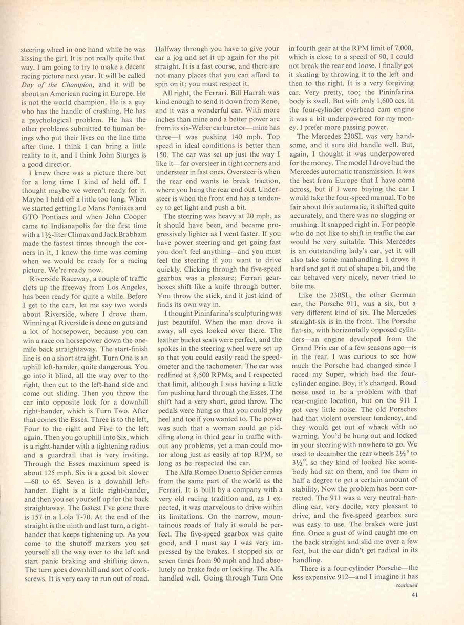 sports illustrated steve mcqueen page8