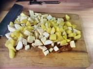 Petersilien,Pastinaken Suppe mit Maronen - 14.10.15 (5)