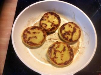 23.2.16 - Kartoffeltaler,Salate,pochiertes Ei,vegetarisch (4)
