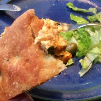 13.3.16 - Focaccia,Hummus,Salat,Obstsalat,vegan (20)