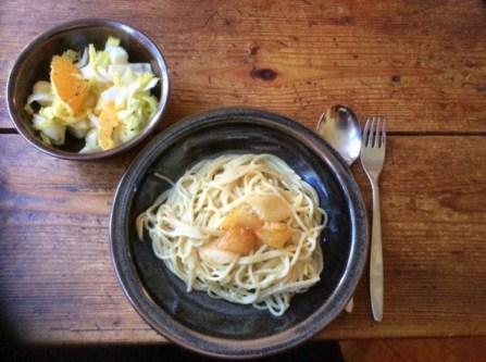17.3.16 - Spaghetti mit Gorgonzolasauce,Chiccore Salat (14)