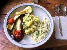 25.4.16 - Ofengemüse,Kartoffelstamp mit Löwenzahn,Kohlrabisalat (16)
