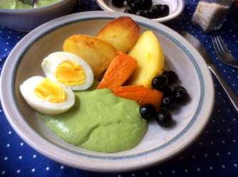 28.4.16 - Ofenkartoffeln,Feta-Bärlauchcreme (13)