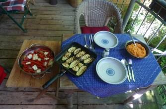 31.5.16 - Paprikapfanne,Zucchini,Süßkartoffelstampf (11)