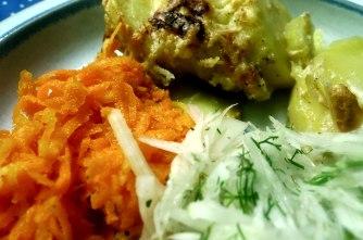 11.7.16 - Kartoffelkgratin,Salate,vegetarisch (12)