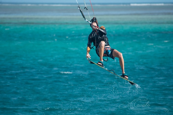 boosted kitesurfing new caledonia