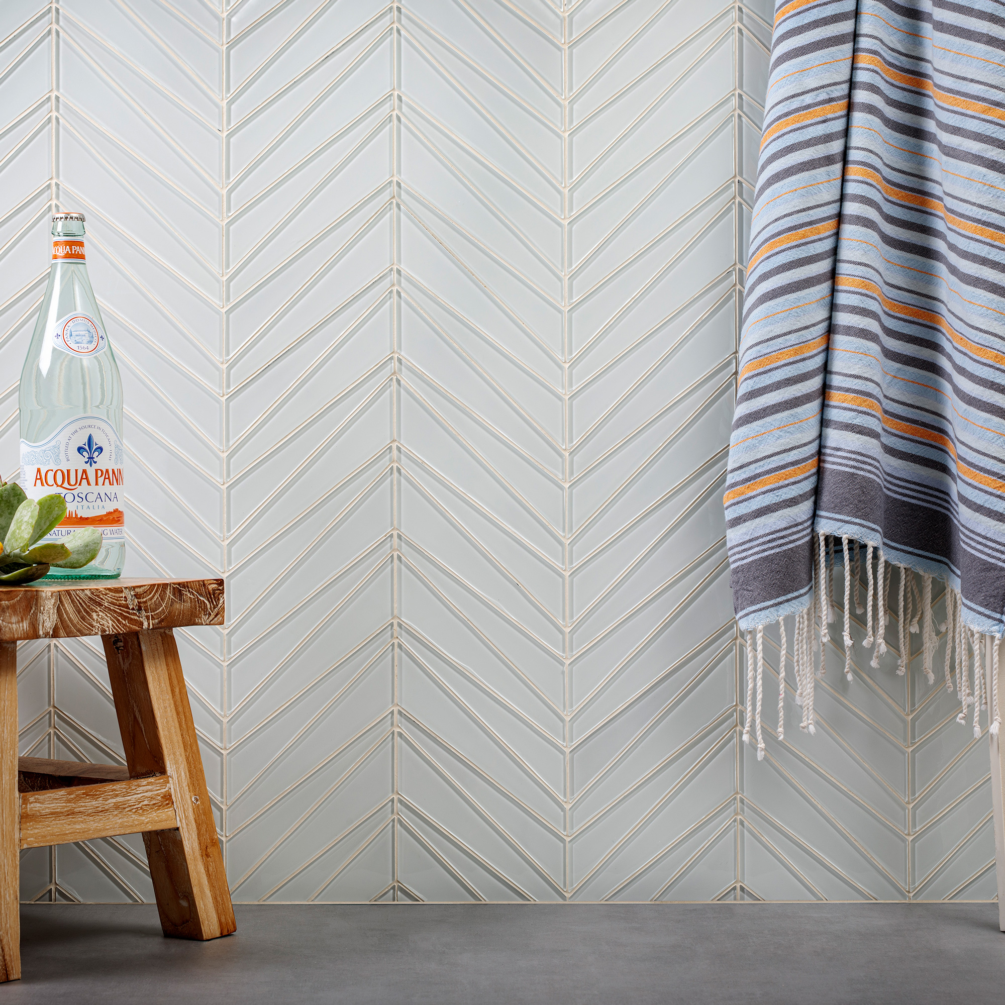 glass mosaic tile by island stone