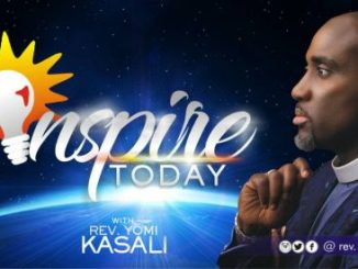 INSPIRE TODAY with Rev. Yomi Kasali