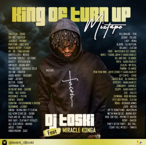 Dj Toski – King of Turn Up (Mix)