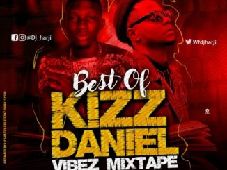 Best Of Kizz Daniel Vibez Mixtape Art