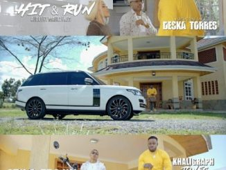 Otile Brown Ft Khaligraph Jones – Hit & Run