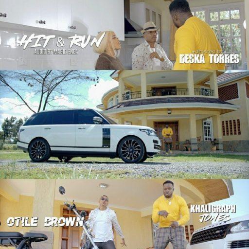 Otile Brown Ft Khaligraph Jones – Hit & Run
