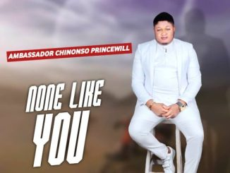 "DOWNLOAD GOSPEL MUSIC: AMBASSADOR CHINONSO PRINCEWILL - ""NONE LIKE YOU"""