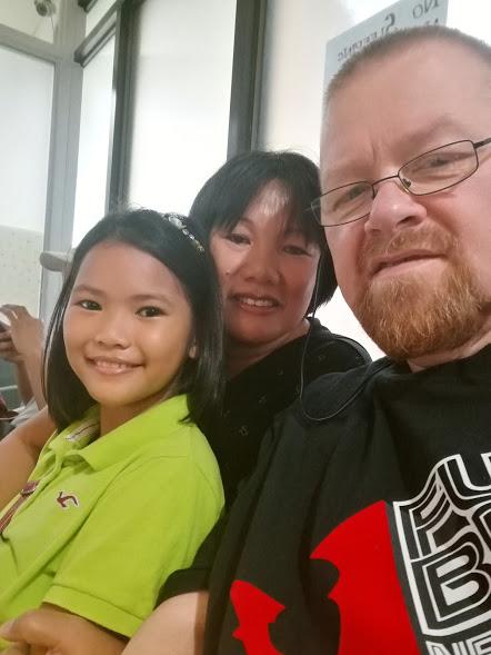 With Sharmaine and Feyma