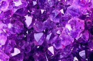 Bright Violet Texture from Natural Amethyst