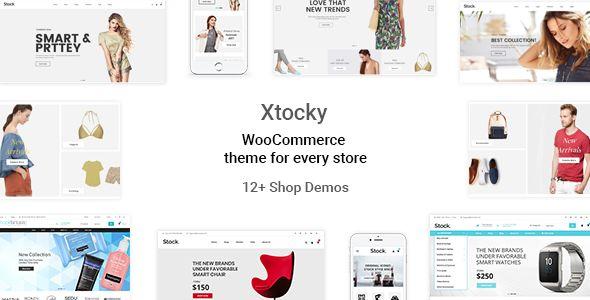 Xtocky v1.0.9 - WooCommerce Responsive Theme