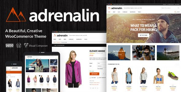 Adrenalin v2.0.2 - Multi-Purpose WooCommerce Theme