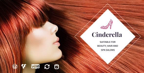 Cinderella v1.9 - Theme For Beauty, Hair And SPA Salons