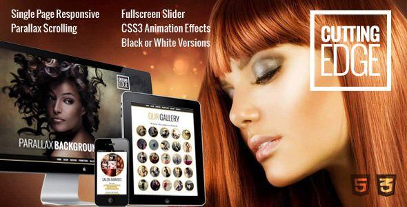 Cutting Edge v1.0.1 - Spa Hair Salon WooCommerce Theme