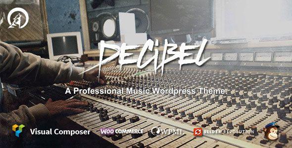 Decibel v2.3.6 - Professional Music WordPress Theme