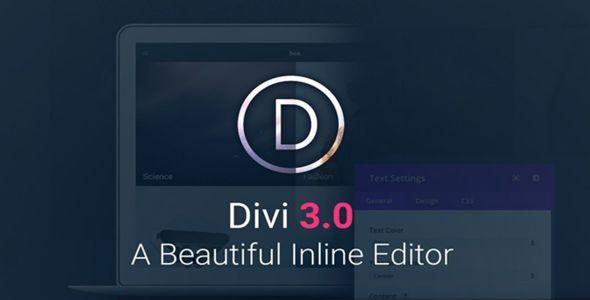 Divi v3.19.13 - Elegantthemes Premium WordPress Theme