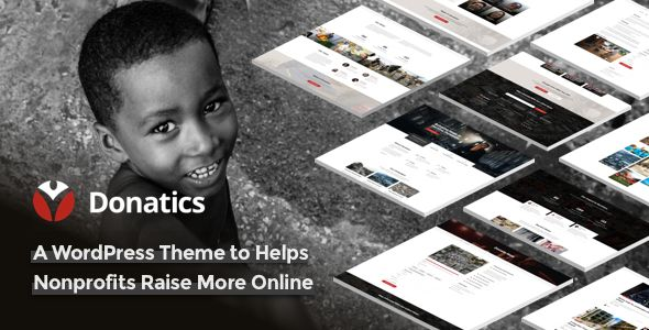 Donatics v1.1.5 - Charity & Fundraising WordPress Theme