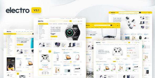 Electro v2.1.0 - Electronics Store WooCommerce Theme