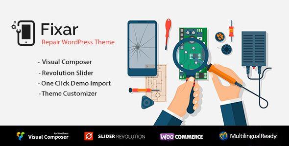 Fixar v1.0.2 - Phone & Computer Repair Theme