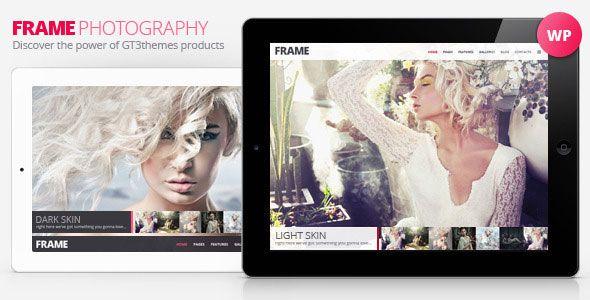 Frame v2.6.1 - Photography Minimalistic WP Theme
