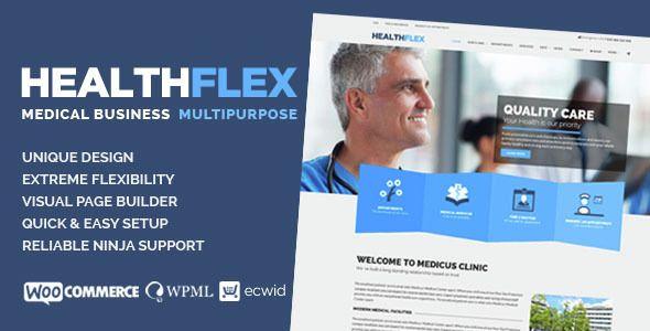 HEALTHFLEX v1.5.7 - Medical Health WordPress Theme