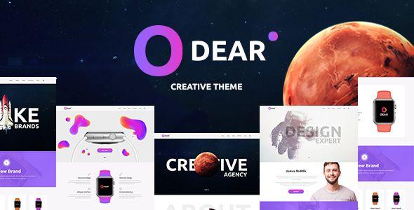 Odear v1.0 - Multi-Concept Creative WordPress Theme