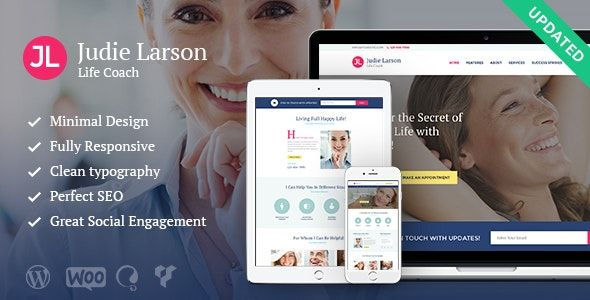 Life Coach And Psychologist Personal v1.9.1 - WordPress Theme