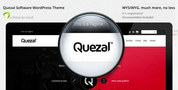 Quezal v2.6.0 - Software Responsive WordPress Theme