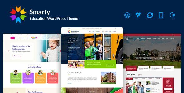 Smarty v3.0.1 - Education WordPress Theme For Kindergarten