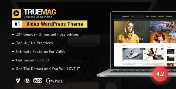 True Mag v4.2.16 - WordPress Theme For Video And Magazine