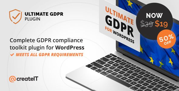 Ultimate GDPR v1.6.6 - Compliance Toolkit For WordPress