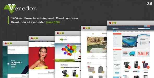 Venedor v2.5.8 - WordPress + WooCommerce Theme