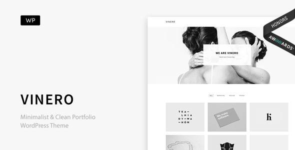 Vinero v3.0 - Very Clean And Minimal Portfolio Theme
