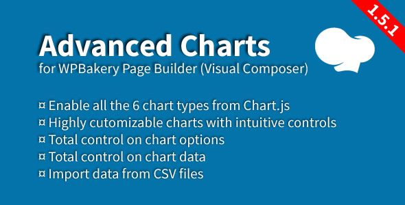 Advanced Charts Add-On For WPBakery Page Builder v1.5.1
