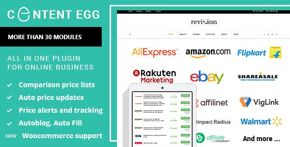 Content Egg v5.4.0 - All In One Plugin For Affiliate